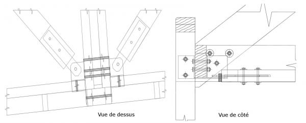 Synergie bois cholet bureau d 39 tudes etudes structures et for Ferrure d assemblage pour meubles